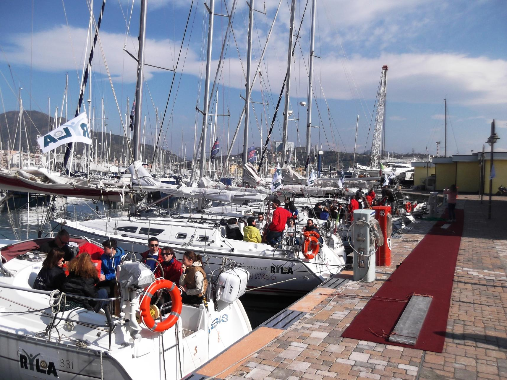 Zena Sail Evento Rotary Club